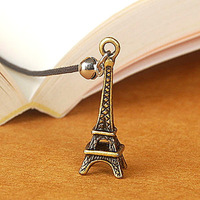 Korea stationery bookiss vintage metal bookmark clip -