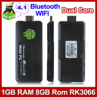 Rikomagic MK802 IIIS Android 4.1 TV BOX Bluetooth Mobile Remote Control Dual Core RK3066 Cortex A9 1GB RAM 8G ROM HDMI Mini PC