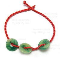 New Arrival Wholesale 50pcs/lot Red Thread Bracelet, Hand Made Chinese Style Red String Bracelet, Length Adjustable