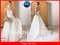 GW11 wedding dress 2013 Extravagant Brand new Newest design Bridal Gown