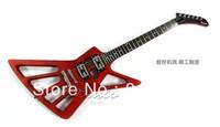 All mahogany guitar hollow electric guitar skeleton