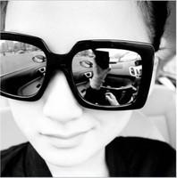 2013 new retro men sunglasses two colors eyewear