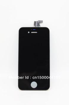 Factory Outlets For iphone 4 4G LCD Touch Screen Digitizer Glass Assembly Replacement +Free Customized 8 Units Tool Kit
