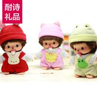 * MONCHHICHI doll dungarres 13cmbb doll birthday gift schoolgirl gift