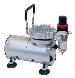 Free shipping!! AIR COMPRESSOR FOR NAIL ART AIRBRUSH CE(China (Mainland))
