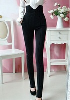 2013 new handsome super was thin legs high waist sheath dress trousers pants Black S,M,L,XL #0378