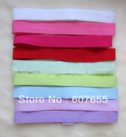 promotion  1.5cm Baby Elastic Headbands Baby Soft Headbands Mix Colors 80pcs/lot free shipping