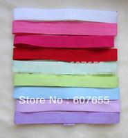 promotion  1.5cm Baby Elastic Headbands Baby Soft Headbands Mix Colors 80pcs/lot free shipping