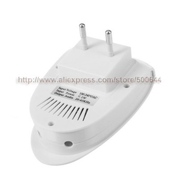 Black/White Ultrasonic Electronic Mosquito Mouse Rodent Bug Pest Repeller Control & 50PCS/Lot DHL/UPS/EMS Free Shipping