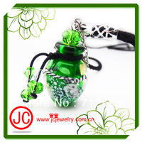 wholesale 2014 latest design perfume bottle pendant necklaces,adjustable chains fit all people HOT SALES !