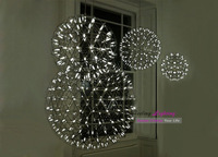 Free Shipping New Product Dia 61CM Raimond Firework Suspension Stainless Steel LED Pendant Lamp