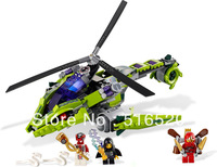 Bela Ninjago Rattlecopter 9757 Building Block Sets 330pcs Ninja L9443 Educational Jigsaw Construction Bricks toys for children