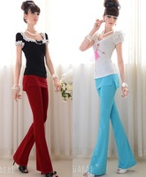 2013 The summer new band skirt Slim tight bottoming trousers pants Black,Red,Blue S,M,L #9660
