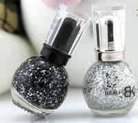2013 Free shipping 6pcs/lot Cheap price Beautiful Snow  Nail polish