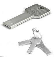 retail genuine capacity Waterproof Metal Key  USB Memory Stick Flash Pen Drive 1GB/2GB/4GB/8GB/16GB/32GB  U77