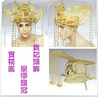 Plate women hair accessory bookpass the wedding hair accessory hat male hair accessory tang dynasty hair accessory hat