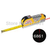 3-in-1 Laser Level Tape Measure Kit In 2.5 Meter Or 8 Feet Length