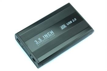 """3.5"""" USB 2.0 SATA HDD External Case Enclosure SPC-0176"""