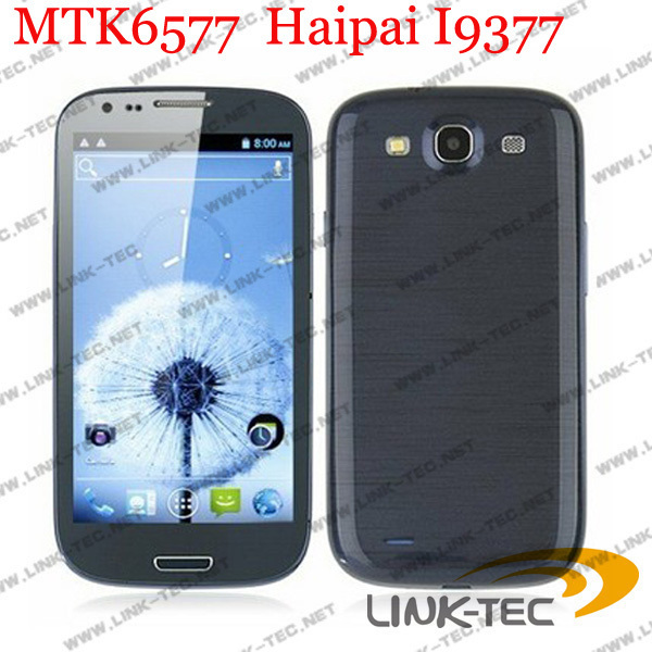 "HK Post Freeshipping haipai i9377 Android 4.0 MTK 6577 phone 4.7"" Capacitance screen 512m RAM 4G ROM WCDMA 3G Bluetooth WIFI(China (Mainland))"