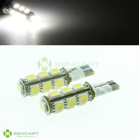 T10 13-smd 5050 LED Fast Strobe Flash White Lights Combination tail Width lamp
