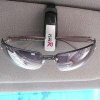 Car glasses clip multifunctional clip glasses business card purse chromophous single