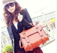 Free shipping Hot promotion 2013 women fashion superior quality   PU Leather Solid Tassel Korea Fashiong women messenger bags