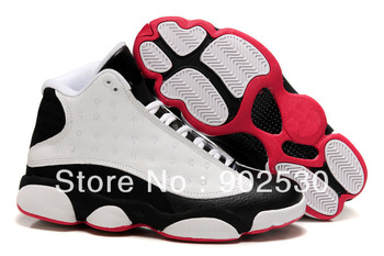 AIR 2013 Free Shipping Top quality Leather   13 Retro Men's Sports Basketball Shoes