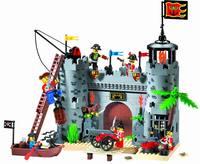 without original box No 310 Pirates Series Enlighten Building Block Set 3D Construction Brick Toys Educational toy for Children