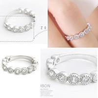 (Min order is $10) E1258 accessories finger ring starlight dot ring female