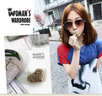(Min order is $10) E4030 accessories vivi lena cutout heart exquisite necklace