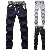 Spring 2013 men's spring clothing trousers male sports health pants slim trousers harem pants casual pants male