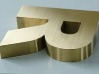 titanium pyramid mirror titanium gold fine titanium mirror word making golden titanium pitched custom-made high-end word