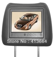 FREE SHIPPING!! 7 inch 3G taxi player+headrest