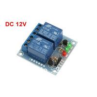 Blue SRD-12VDC-SL-C 2 Channel DC 12V Coil Power Relay Module