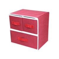 Drawer handle cloth non-woven underwear storage box finishing box storage