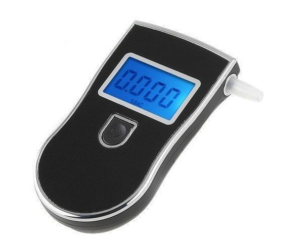 New LCD Digital high accuracy and sensation Breath Alcohol Tester Breathalyzer free shipping(China (Mainland))