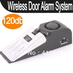 New arrival Wireless Home Alert Security Door Stop Alarm System Hot(China (Mainland))