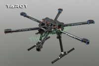 Tarot FY680 3K Pure Carbon Fiber Full Folding Hexacopter 680mm FPV Aircraft Frame TL6801