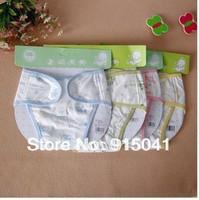 Baby diaper 100% cotton breathable leak-proof pocket  pants cloth diaper urine pants