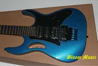 Metalic Blue IBZ Electric Guitar flyod rose tremolo bridge Free Shipping