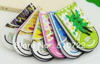 Free shipping 10PCS/LOT Cute Colorful Shoe Style Memo Pads / Notepads Stationery