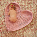 Free shipping,heart pattern crochet blanket,baby  photography props,baby shower,birthday gift