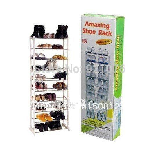 Christmas gift!!big promotion!!!free shipping!!!Amazing shoe rack 10 layer 20 pairs Free shipping AA0067(China (Mainland))