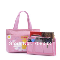 High Quality Multi-Functional Handbag,Cosmetic Storage Bag In Bag,Mp3 Phone Cosmetic bag,Free Shipping