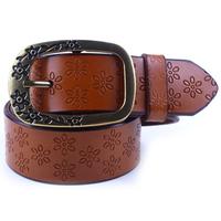 2013 new Women's  vintage genuine leather  belt  Fashion female cowhide  strap