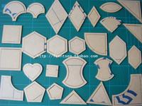 Diy patchwork cola quilt patchwork tools 27 set 54