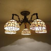 Lighting lamps living room lights bedroom lamp ceiling light fashion brief modern 5 fashion tiffany ceiling lamp