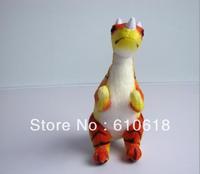 Free Shipping1 Pcs 28cm Ceratosaurus Jurassic Dinosaur Children's Educational Toys Cartoon Plush Toy Stuffed Animals Doll Model