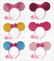 free shipping 10pcs/lot Cartoon hair bands cartoon MICKEY hair accessory MICKEY headband