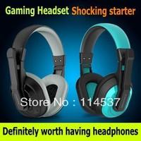 Free Shipping Jiahe CT-770 Gaming headset Laptop earphones Band headset